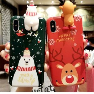 Christmas Cute iPhone Case (white or red)